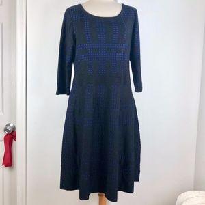 Lane Bryant Black & Blue Career/Office Dress 18/20